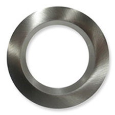 chroom ring gevormd