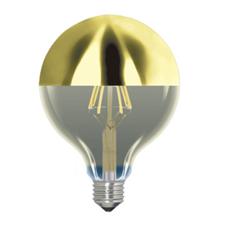 LED gouden spiegel bollamp