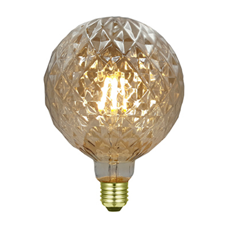 LED diamantlamp amber