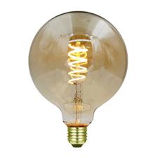 LED bollamp spiraal