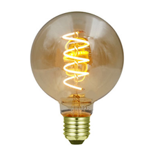 LED spiraal bol lamp