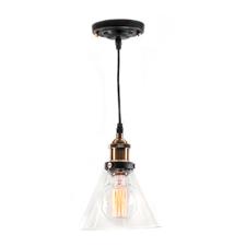 vintage hanglamp glas