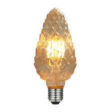 LED dennenappel lamp