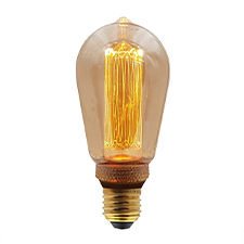 LED vintage lamp 64mm