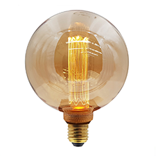 LED vintage lamp 125mm