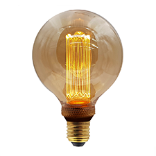 LED vintage lamp 95mm