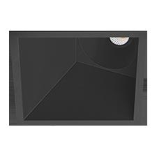 vierkant asymmetrisch 7w dimbaar